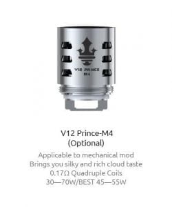 V12 Prince Replacement 3pk By Smok