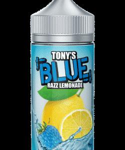 Blue Razz Lemonade By Tony's E Liquid 100ml