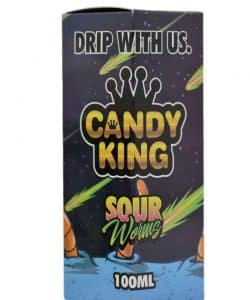 Sour Worms - Candy King 100ml