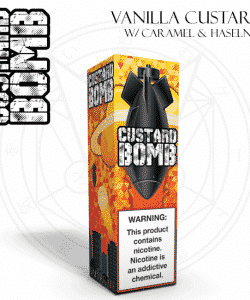 Custard Bomb By Vapergate 120ml