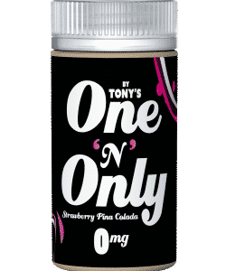 One & Only By Tony's E Liquid 100ml