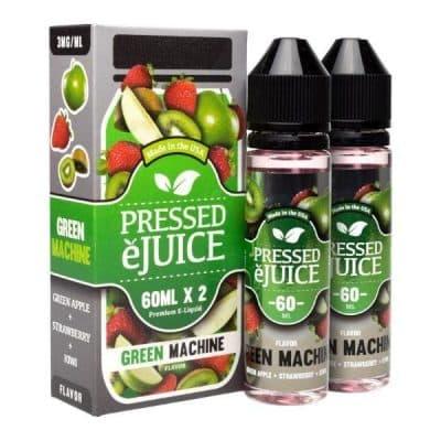 Green Machine - Pressed eJuice 120ml