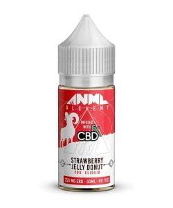 Strawberry Jelly Donut 250mg By ANML Alchemy 30ml