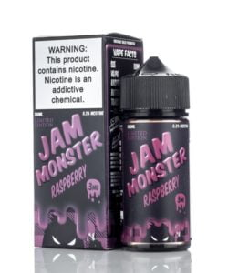 Rasberry By Jam Monster 100ml