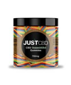 CBD Gummies 750mg By JUSTCBD