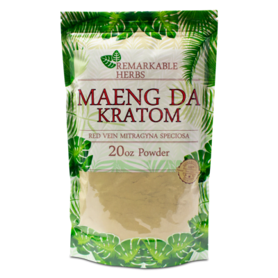 Red Vein Maeng Da By Remarkable Herbs