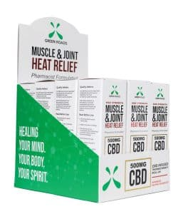 Muscle & Joint Heat Relief Roll-On  By Green Roads