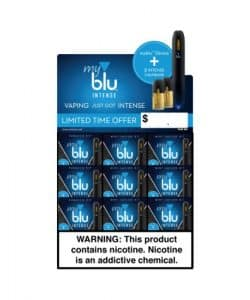myBlu Intense Bundle 9 Kits+ 9 Pods (Promotion Limited Time Only)