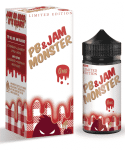 PB & Jam Monster Strawberry By Jam Monster 100ml
