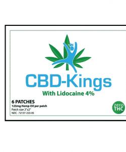CBD Kings 125mg CBD 4% Lidocaine