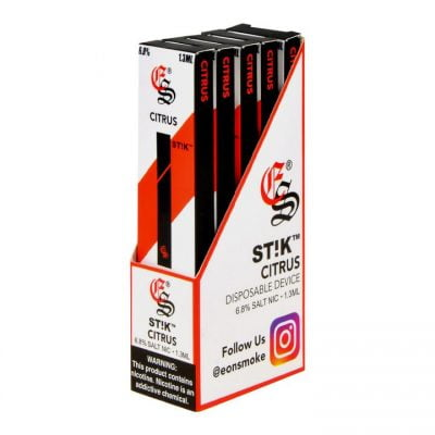 Eonsmoke Disposable STIK 6.8% Nicotine 5pk