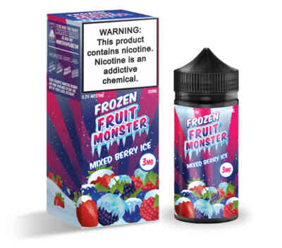 Strawberry Kiwi Pomegranate By Fruit Monster 100ml
