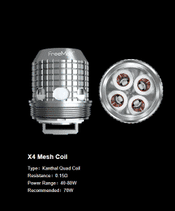 Fireluke M Replacement Coils 5pk By FreeMax (Fireluke M & Fireluke 2)