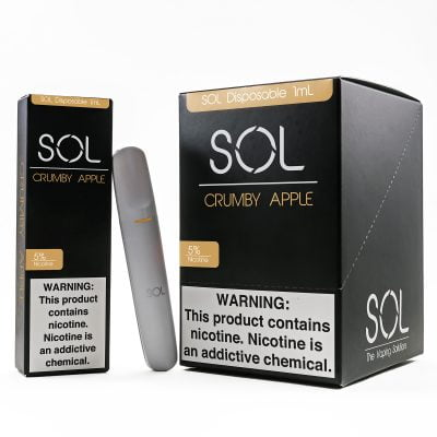 SOL Disposable 5% Nicotine 10pk