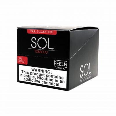 SOL FEELM 1.5ml 2 Pods 5pk