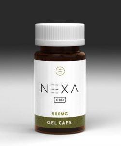 CBD Gel Capsules By NEXA CBD