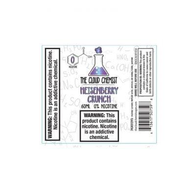 Heisenberry Crunch By The Cloud Chemist 60ml