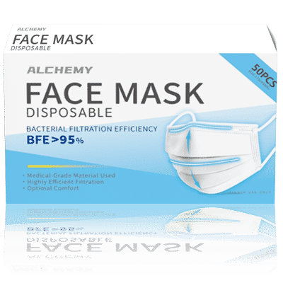 Alchemy Face Mask >BFE 95% 50pk