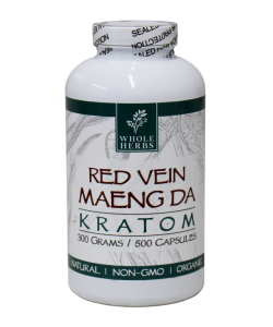 Red Vein Maeng Da Capsules By Whole Herbs