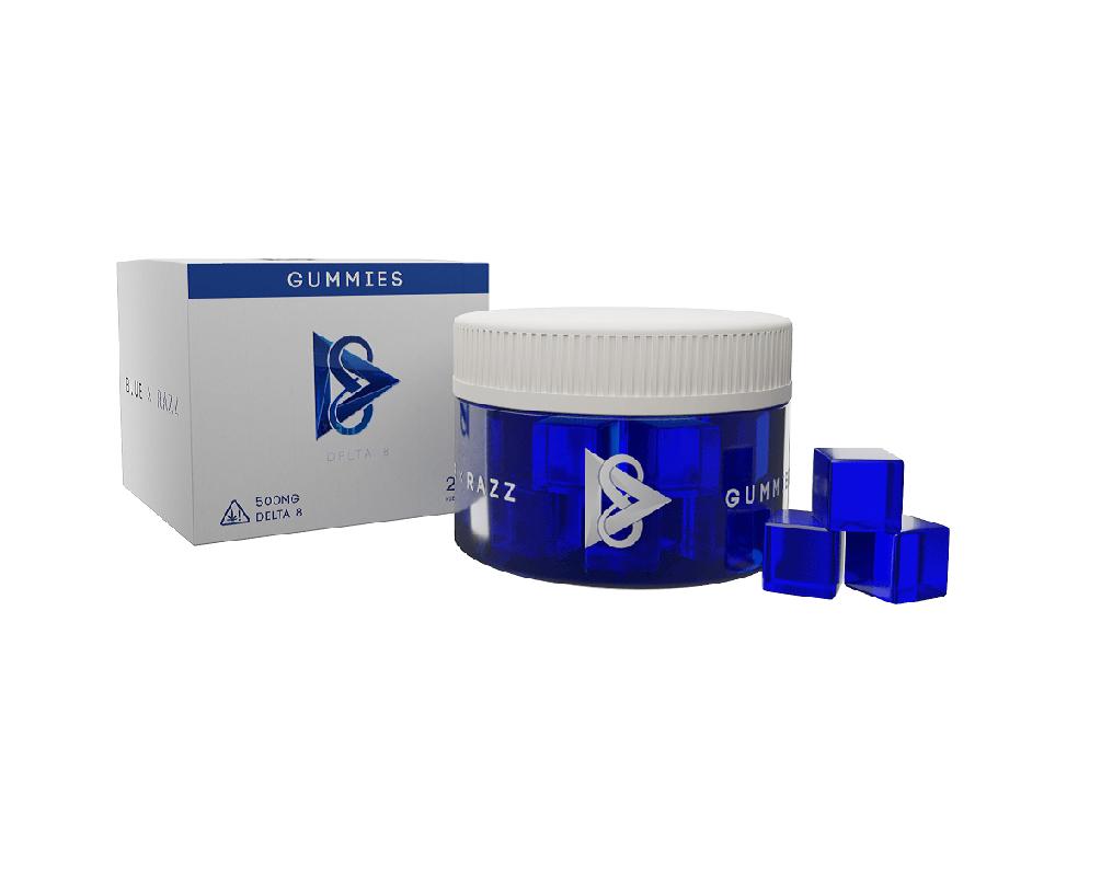 DELTA 8 Gummies 500mg - RZ Smoke - Vape & Smoke Wholesale Distributor