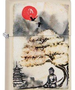 Pagoda Bonsai Buddha Design #29846 By Zippo