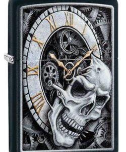 Skull Clock Design #29854 By Zippo
