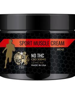 Sport Muscle Cream By Royal CBD