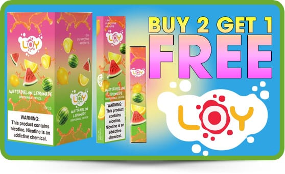 SUMMER SALE: B2G1 FREE - LOY DISPOSABLE