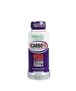 Herbal Clean QCarbo16 Mega Strength Cleansing Detox Formula 16oz