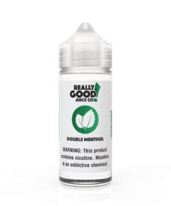 Double Menthol By Really Good Juice Co