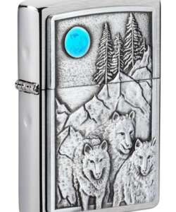 Wolf Pack and Moon Emblem Design #49295 By Zippo