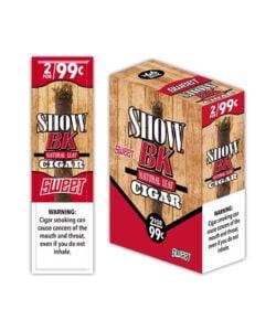 Show BK Natural Leaf Cigar 15pk (Pre Priced 2 For $.99)