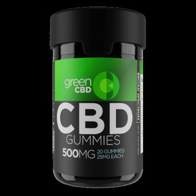 Green CBD Gummies 500mg