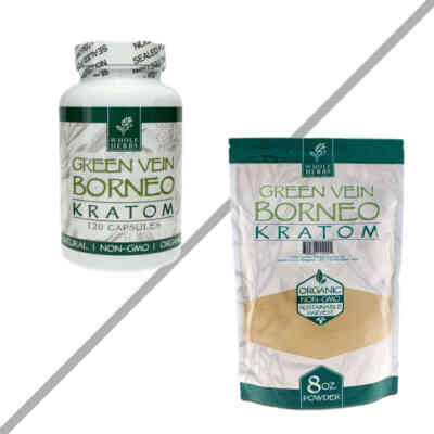Green Vein Borneo By Whole Herbs