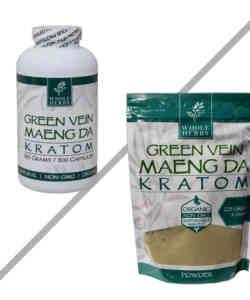 Green Vein Maeng Da By Whole Herbs