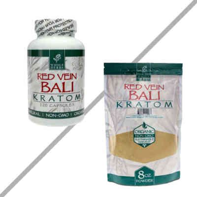 Red Vein Bali By Whole Herbs