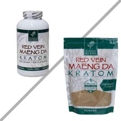 Red Vein Maeng Da By Whole Herbs
