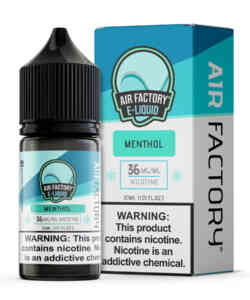 Unflavored By Air Factory Salts 30ml