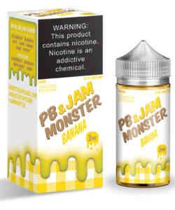 PB & Jam Monster Banana By Jam Monster 100ml