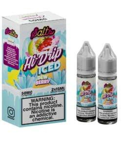 Iced Dew Berry By Hi Drip Salts 2x15ml