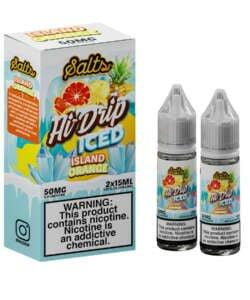 Iced Island Orange By Hi Drip Salts 2x15ml