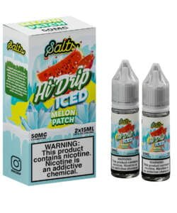 Iced Melon Patch By Hi Drip Salts 2x15ml