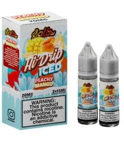 Iced Peachy Mango By Hi Drip Salts 2x15ml