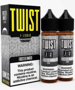 Frost Amber By Twist E-Liquid 2x60ml