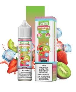 Strawberry Kiwi Iced By Pod Juice 60ml