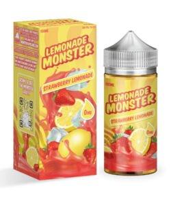 Strawberry Lemonade By Lemonade Monster 100ml