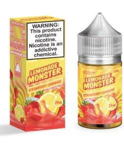 Strawberry Lemonade By Lemonade Monster Salts 30ml