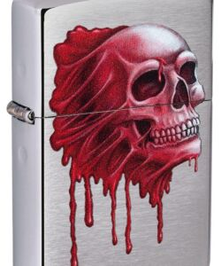Skull Design #49603 By Zippo